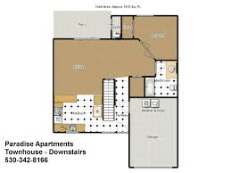 One Bedroom Apartments In Chico Ca by Paradise Apartments Townhouse