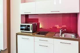cuisine framboise verre sur mesure