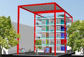 100 Cargo Container Cabins Shipping Container Housing Project To Go Up Near Downtown