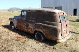 1957 Chevrolet | Old Trucks | Panel Truck, Trucks, Chevrolet