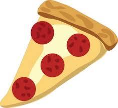 Pizza Clipart Image Slice of Pepperoni Pizza