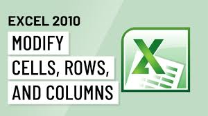 Excel 2010 Modifying Cells Rows And Columns YouTube