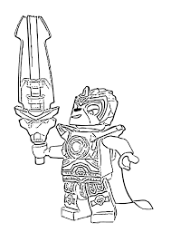 Lego Chima Coloring Pages Lennox Lion In