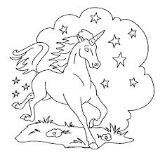 Unicorn Coloring Pages Free
