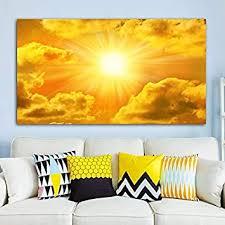 qwesfx himmel wolken sonne bild landschaft leinwand malerei