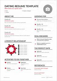 Sick Of Dating Apps? See How The Dating Resume Might Change ...