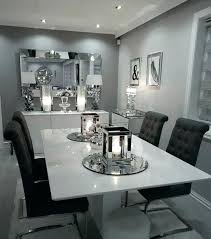 Gray Dining Room Table White And Fantastic Decor Ideas