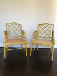 Faux Bamboo Chippendale Armchairs Chairs | Pair Fretwork Dining Chairs |  Palm Beach Regency Chinese Chippendale | Hollywood Regency Chairs Bamboo Chippendale Chairs Small Set Of Eight Tall Back Black Faux Chinese Chinese Chippendale Florida Regency 57 Ding Table Vintage Six A Quick Living Room And Refresh Stripes Whimsy Side By Janneys Collection Chair Toronto For Sale Four