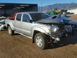 3TMMU4FN6EM064080 | 2014 SILVER TOYOTA TACOMA DOU On Sale In CO ...