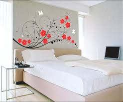 Bedroom Wall Painting Decor Beautiful Your Home With Best Fancy Decoration Ideas Of Paint