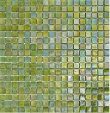 mosaic tile usa sicis glimmer kiwi 125