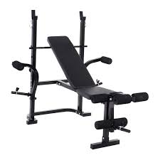 Goplus Adjustable Weight Lifting MultiFunction Bench Fitness Exercise Strength Workout