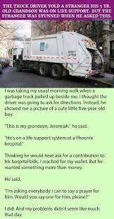 The Truck Driver Told A Stranger His 5 Yr. Old Grandson Was On Life ... The Bus Drivers Prayer By Ian Dury Read Richard Purnell Cdl Truck Driver Job Description For Resume Awesome Templates Tfc Global Prayers Truckers Home Facebook Kneeling To Pray Stock Photos Images Alamy Man Slain In Omaha Always Made You Laugh Friend Says At Prayer Nu Way Driving School Michigan History Gezginturknet Pin Sue Mc Neelyogara On My Guide To The Galaxy Truck Drivers T Stainless Steel Dog Tag Necklace Or Key Chain With Free Tow Poems Poemviewco