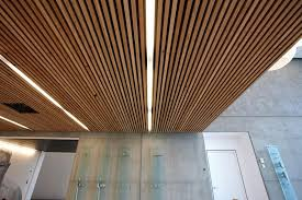 Rulon Wood Grille Ceiling by Lovely Inspiration Ideas Wood Panel Ceiling Modern Design Wooden