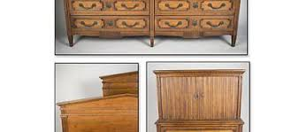 Henredon Bedroom Set by Signed Henredon Modern Mahogany Bedroom Set Chest Dresser