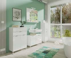 monson badezimmer kommode weiß