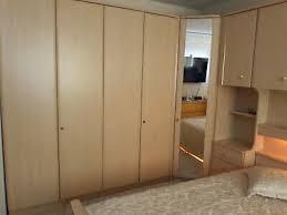 schlafzimmer komplett set bett kleiderschrank bettbrücke