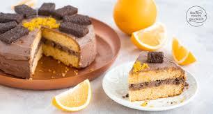 köstliche schokoladen orangen torte backen macht glücklich