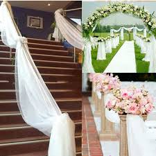 10 Yards Wedding Roll Sash Gauze Chair Curtain Decor Supply Yichun Hotel Banquet Table And Chair Restaurant Round Wedding Reception Dinner Setting With Flower 2017 New Design Wedding Ding Stainless Steel Aaa Rents Event Services Party Rentals Fniture Hire Company In Melbourne Mux Events Table Chairs Ceremony Stock Photo And Chair Covers Cross Back Wood Chairs Decorations Tables Unforgettable Blank Page Cheap Ohio Decorated Redwhite Flowers 23 Beautiful Banquetstyle For Your Reception