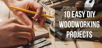 10 Easy DIY Woodworking Projects For Every Skill Level