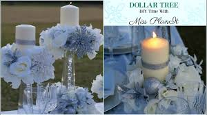 DIY Dollar Tree Wedding Centerpiece For 10