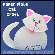 Kitty Cat Paper Plate Craft From Daniellesplace