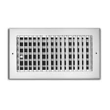 Ceiling Ac Vent Deflectors by Truaire 10 In X 6 In Adjustable 1 Way Wall Ceiling Register