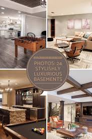 100 Pure Home Designs 24 Stylishly Luxurious Basements Furniture One Decor