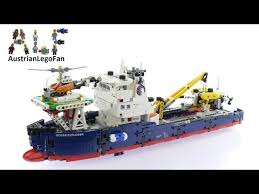 Lego Ship Sinking 2 by Lego Technic 42064 Ocean Explorer Lego Speed Build Review