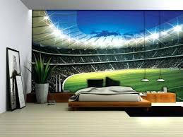 wall ideas sports wall mural sports stadium wall mural sports