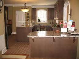 kitchen minimalist kitchen design ideas with brown thin brick