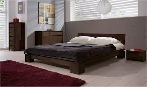 chambre wengé lit contemporain vinci bas mobilier chambre adulte meuble en