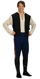 Halloween Express Woodbury Mn by Star Wars Deluxe Han Solo Costume Buycostumes Com