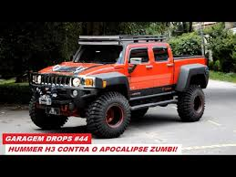 Garagem Drops 44 Hummer H3 recebe kit de suspens£o e estilo