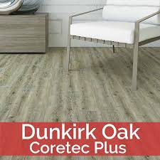 coretec plus dunkirk oak cp506 luxury vinyl tile engineered flooring