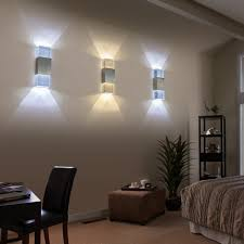 tanbaby acrylic led wall l 2w up and wall sconce light