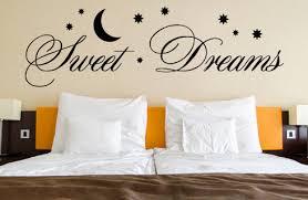 wandtattoo sprüche sweet dreams wohnzimmer schlafzimmer in 3 größen wt 0017