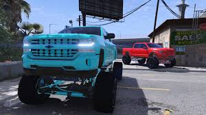 100 Lifted Chevy Truck For Sale Silverado ADDONBETA GTA5Modscom