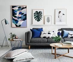 canapé gris foncé déco salon gris 88 idées pleines de charme