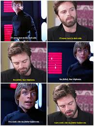 Sebastian Stan Auditions For Young Luke Skywalkersebastian Stansebastianstaneditsebstaneditluke Mark HamillLuke