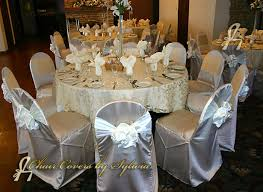 Chair Covers By Sylwia Inc by Chicago Chair Covers For Rental In Mocha In The Lamour Satin Fabric