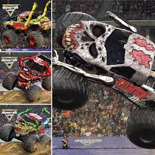 100 Monster Trucks Cleveland Jam On Twitter One Of These NEW Zombie Jam Trucks
