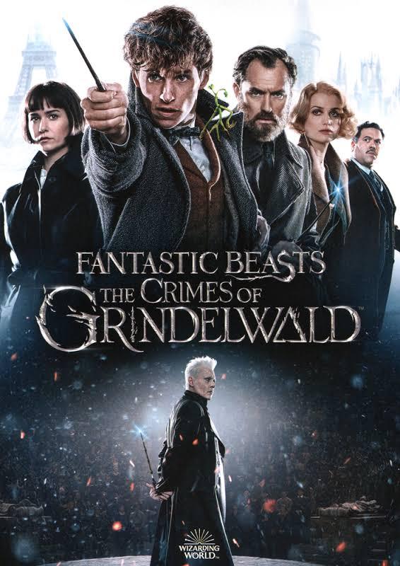 Fantastic Beasts:the Crimes Of Grindel - DVD