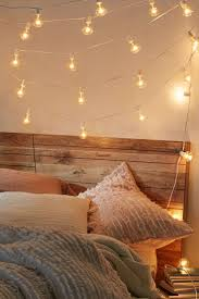 awesome hanging string lights for bedroom also trends