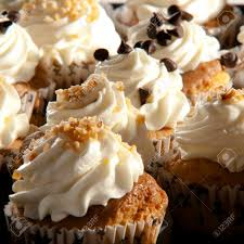 The Muffins Are Typical And Fluffy Cupcakes American Or English