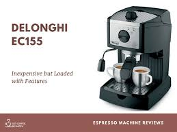 DeLonghi EC155 Review Best Espresso Machine For Home Use