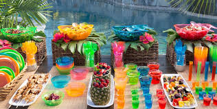 Image Of Beach Themed Party Decorations