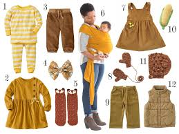 Twelve Caramel Colored Fall Clothing Styles For Little Kids Brimful
