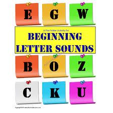 File Folder Activity Beginning Letter Sounds Initial Sound Www