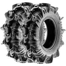Terache AZTEX MT Mud A/T UTV Tires 30x9-14 30x9x14 8 Ply (Set Pair ...